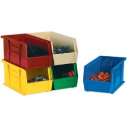 4 1 8x7 3 8x3 Blue Plastic Stack Amp Hang Bin Boxes 24ct