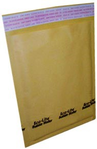 #00 - 5x10'' Kraft Paper Bubble Mailers 20ct
