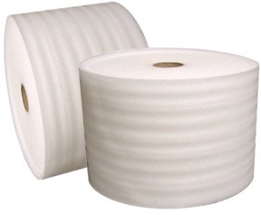 1/8'' Thick 330'x12'' Wide<br>White Foam
