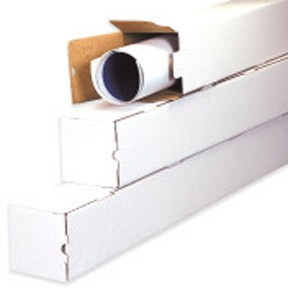 3x3x30'' Square Mailing Tube 25ct