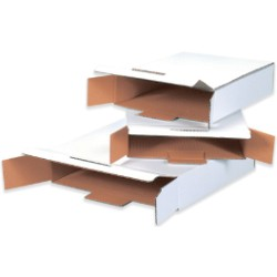 White End Loading Locking Mailers