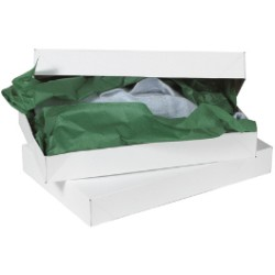White Apparel Boxes
