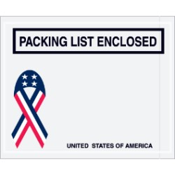 U.S.A. Packing List Enclosed Envelopes