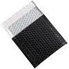 7 x 6 3/4'' BLACK Glamour Bubble Mailers 72ct