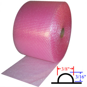 Pink Bubble Rolls Antistatic