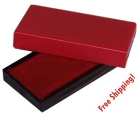 FREE SHIPPING ON ALL INK PAD REFILLS