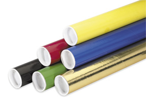 Colored Mailing / Shipping Tubes