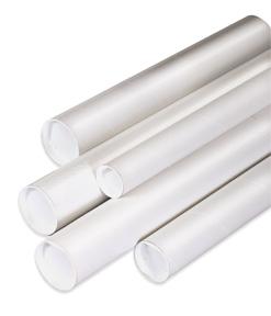 White Mailing / Shipping Tubes