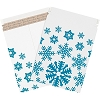 9 3/4'' x 12 1/4'' White  Self-Seal Flat Gift Mailers - case of 25