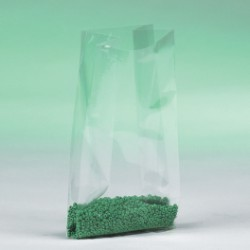 8'' x 4'' x 18'' - 1 Mil  Gusseted Poly Bags - case of 1000