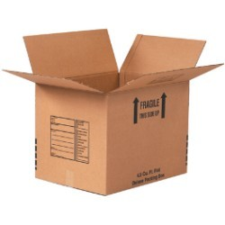 24'' x 18'' x 18''  Deluxe Packing Boxes - pack of 10