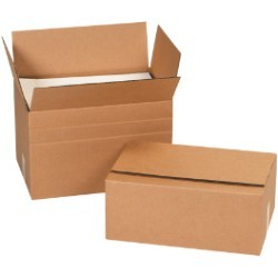 26'' x 18'' x 16''  Multi-Depth Corrugated Boxes - bundle of 10