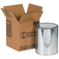 6 7/8'' x 6 7/8'' x 7 7/8''  1 - 1 Gallon Haz Mat Boxes - bundle of 20