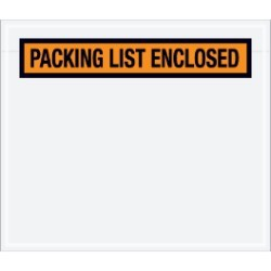 7'' x 6''  ''Packing List Enclosed'' Envelopes - case of 1000