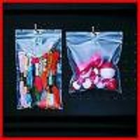 3x5'' Zip Bags wtih Hang Hole 2 mil 1000ct