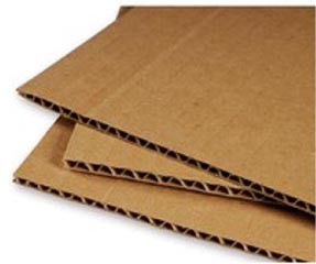 19 7/8x19 7/8'' Corrugated Sheet Pads 50ct