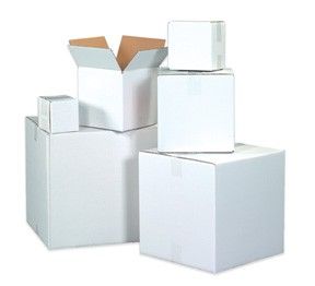 17 1/4 x 11 1/4 x 8'' White Boxes 25ct