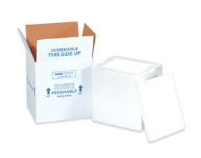 12 x 10 x 7'' Insulated Shipping Coolers 3ct