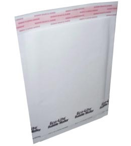 #4 - 9.5x14.5'' White Paper Bubble Mailers 200ct