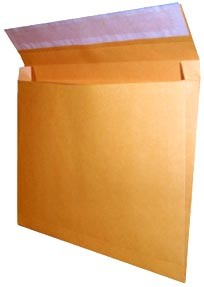 5 x 11 x 2'' Kraft End Load Expansion Envelopes 100ct