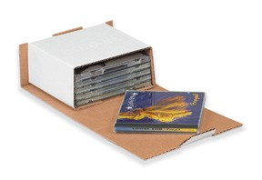 CD Mailers Tab Closure (6 CDs) 50ct