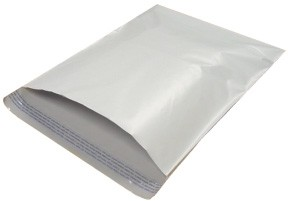 14.5x19'' White Poly Mailers 100ct