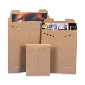 22x27'' (#27) Tab Close Kraft Rigid Mailers 50ct
