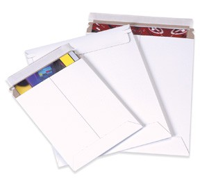 17 x 21'' (#7) Self Seal White Rigid Mailers 100ct