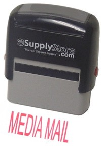 MEDIA MAIL Self Inking Stamp