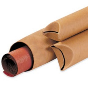 2x15'' Kraft Crimped End Tubes 50ct