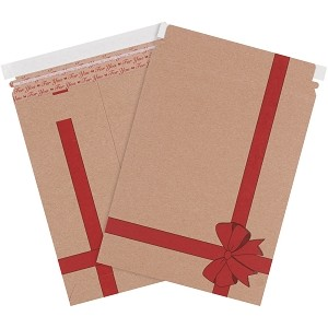 9 3/4'' x 12 1/4'' (#5) Self Seal Rigid Gift Mailers 25ct